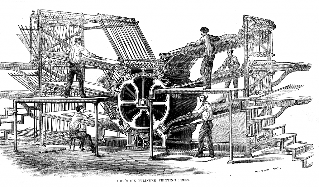 Hoes_six-cylinder_press1